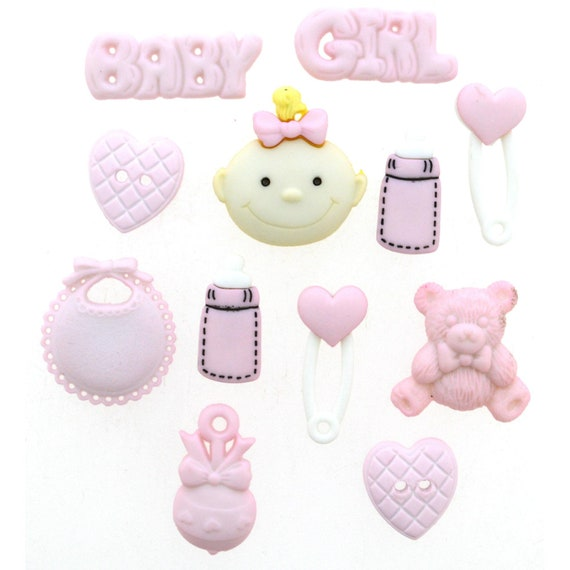 baby shower hamper New arrival baby girl pram teddy horse motif satin ribbon