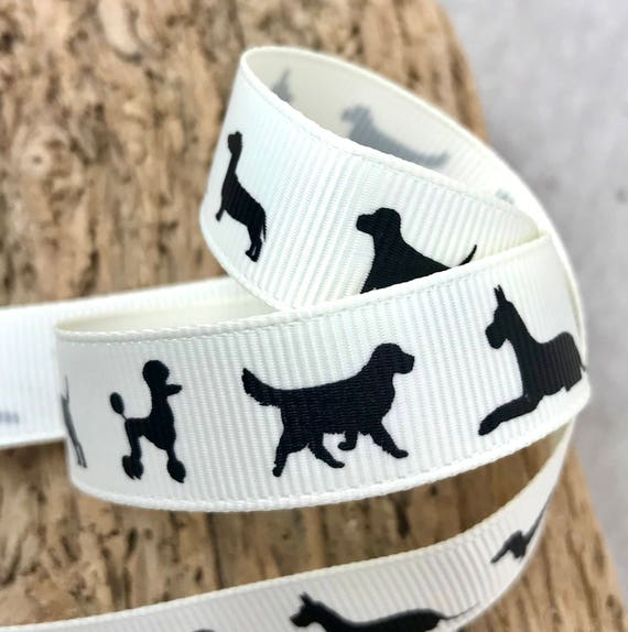 Bertie/'s Bows PETS PAWS CAT DOG Grosgrain Ribbon various lengths 4 designs