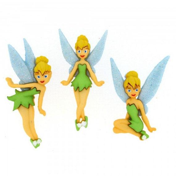 Hada hada Tinkerbell gran ángel Fairy cadena vintage ramo alas collar gol