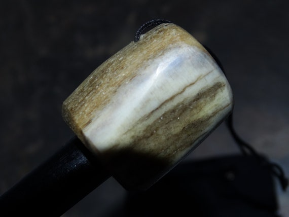 Elk Antler Firesteel Ferro Rod with Kydex attachment