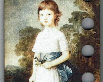 Blue Velvet Schoolgirl Threadkeep 2.25 x 3.75