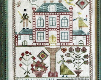 Jannet Speirs 1813 Reproduction Sampler by Needle Work Press Counted Cross Stitch Pattern/Chart