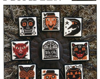 Heads Up ! by Prairie Schooler Counted Cross Stitch Pattern/Chart