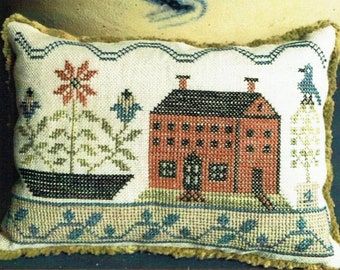 On Stoneware Street by The Scarlett House Counted Cross Stitch Pattern/Chart