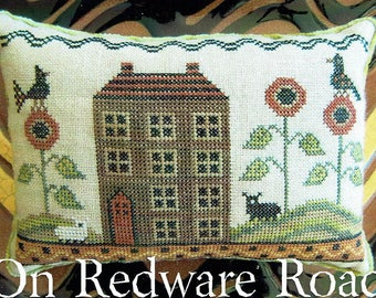 On Redware Road by The Scarlett House Counted Cross Stitch Pattern/Chart