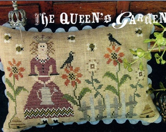 The Queen's Garden by The Scarlett House Counted Cross Stitch Pattern/Chart
