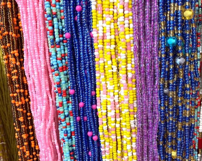 WaistBeads for weightloss Waist Beads Wholesale Tie on WaistBeads Ghana wholesale WaistBeads African waist beads WaistBeads bulk