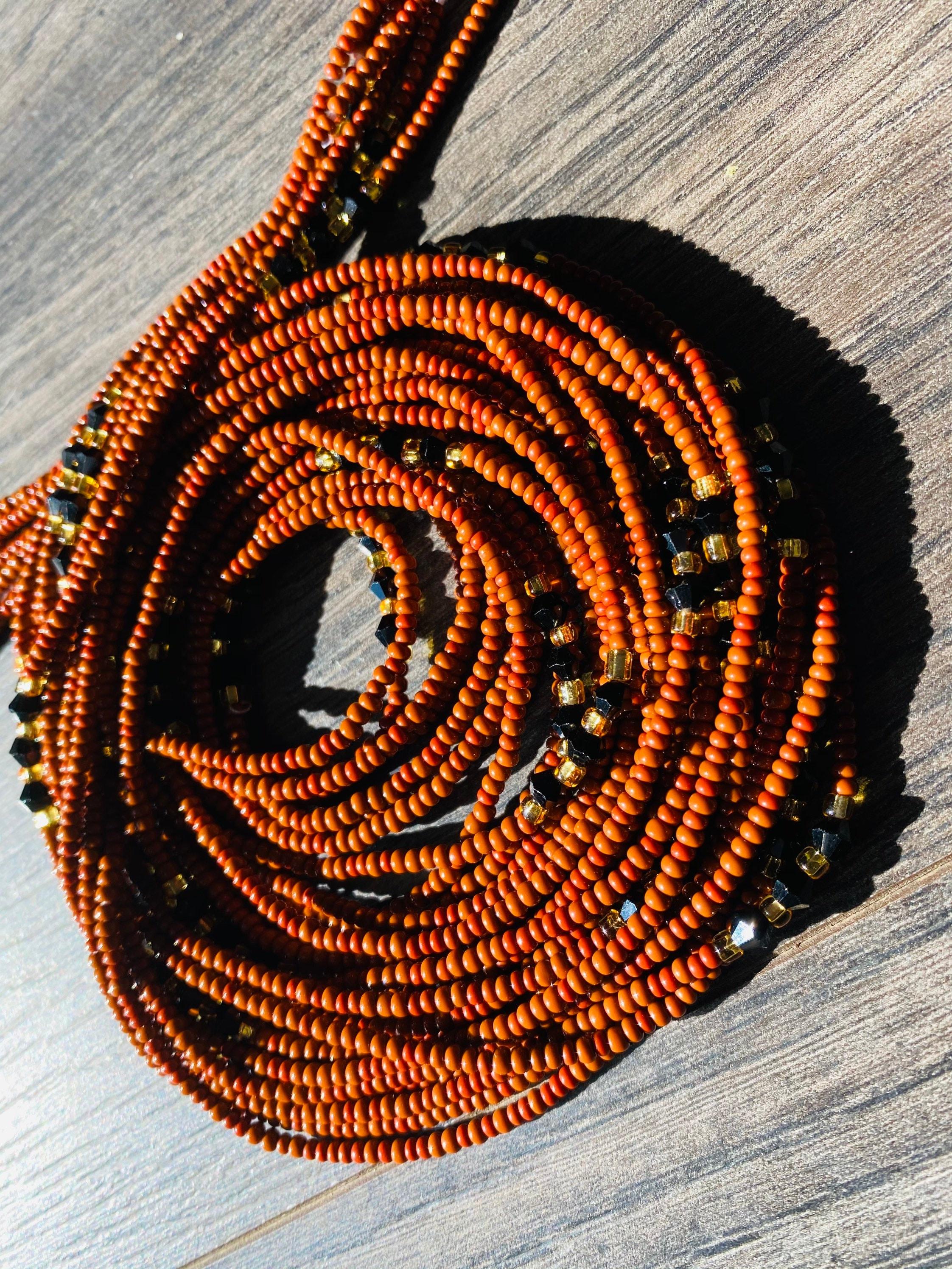 FREE SHIPPING Waisted Beads for women tummy chain waist Czech  Waist Beads Wholesale- WaistBeads with crystals- Belly chain Czech Beads