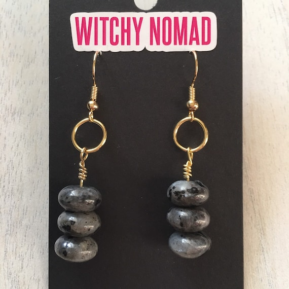 Labradorite Stack Earrings