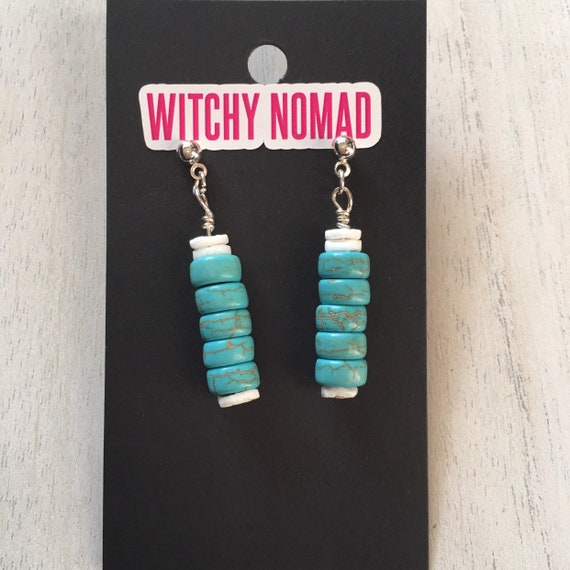 Turquoise Stacker Earrings