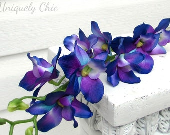 Blue Orchid Etsy