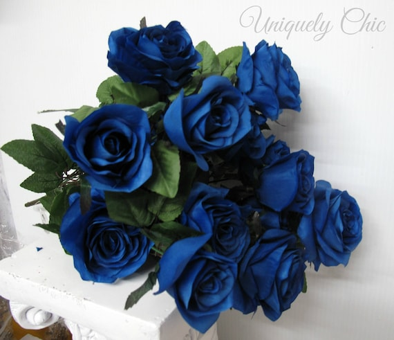 Magnificent Diy Wedding Bouquet Royal Blue Rose Bush Wedding Centerpiece Diy Blue Rose Bouquet Diy Wedding Supplies Wedding Flowers Wedding Decor Home Interior And Landscaping Fragforummapetitesourisinfo