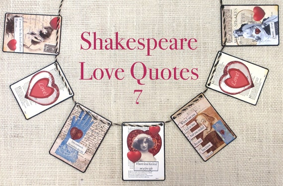 shakespeare love quotes garlandgarlands banners