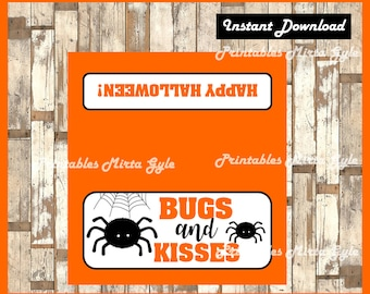 photograph relating to Bugs and Kisses Printable called Insects and kisses Etsy