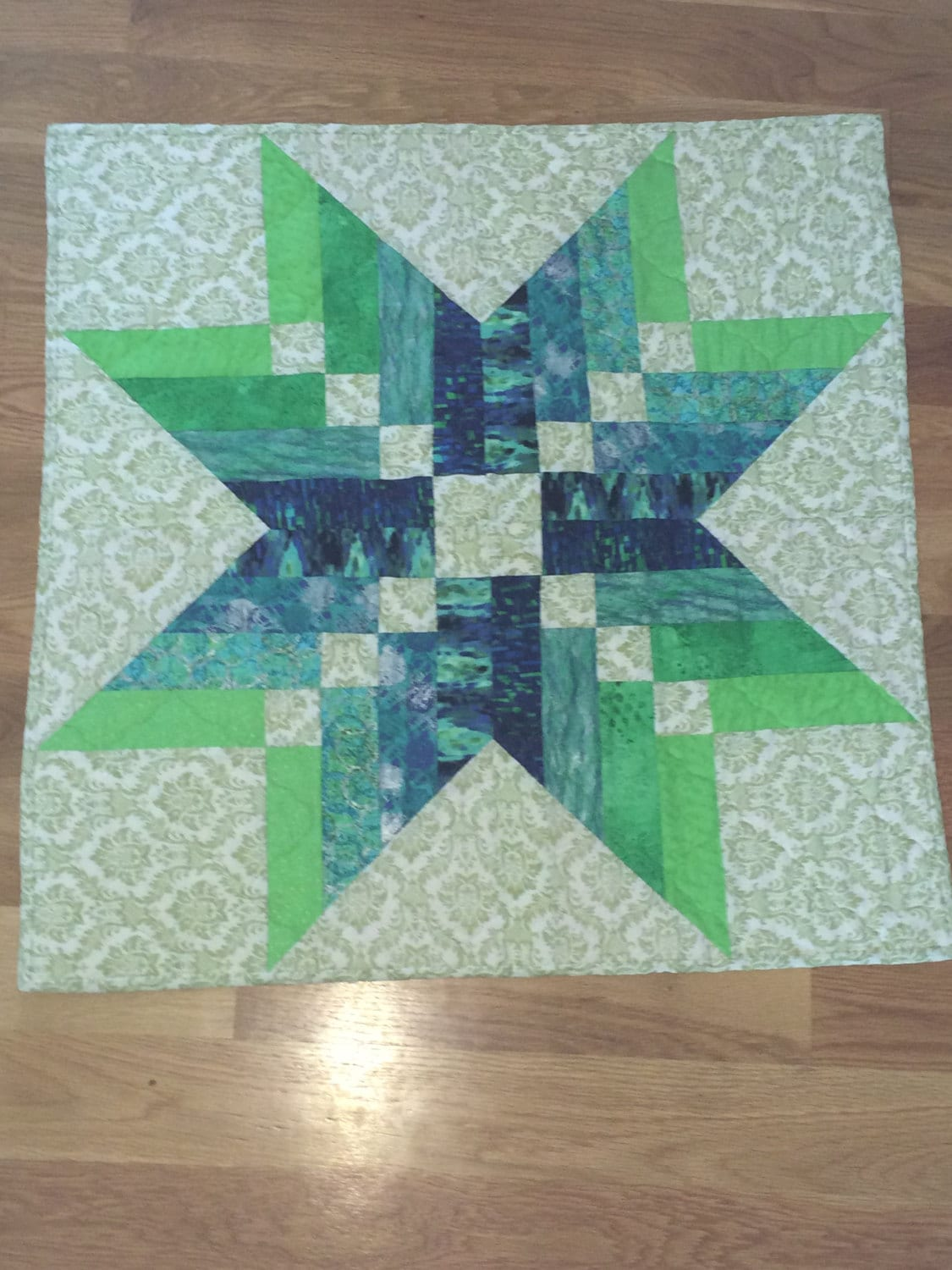 Quilt Wall Hangingtable Topper Binding Tool Star Etsy