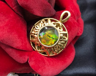 Rainbowmon Ammolite