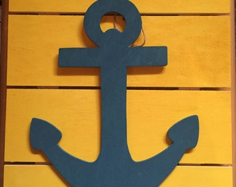 Refuse to sink wooden sign