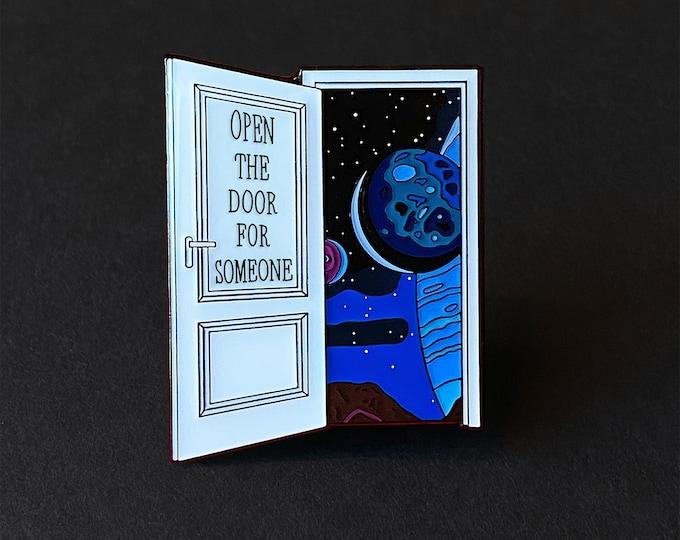 Open The Door Pin