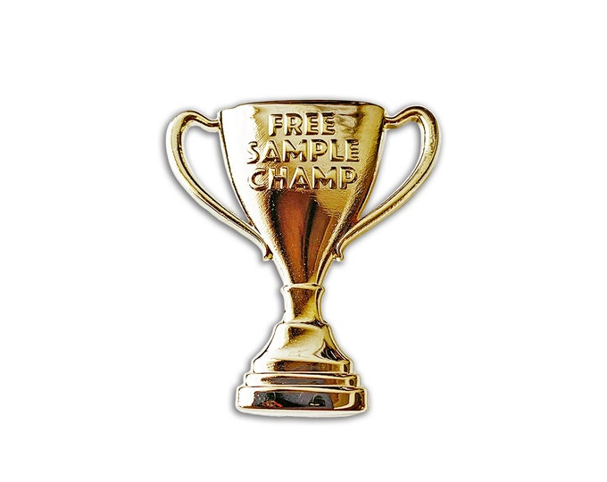 Free Sample Champ Pin