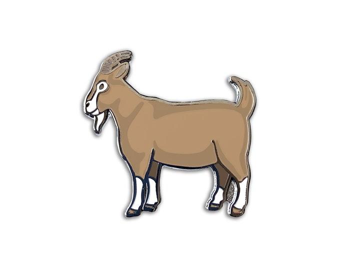 Brown Goat Pin