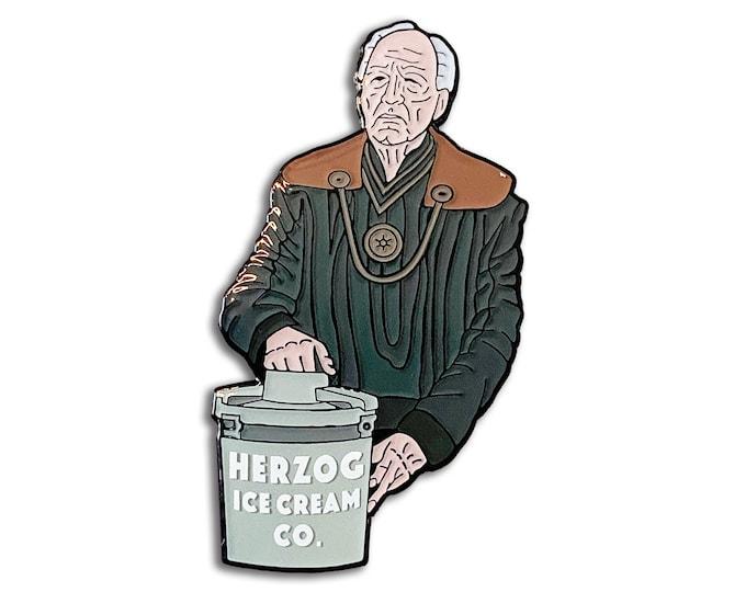 Herzog Ice Cream Pin