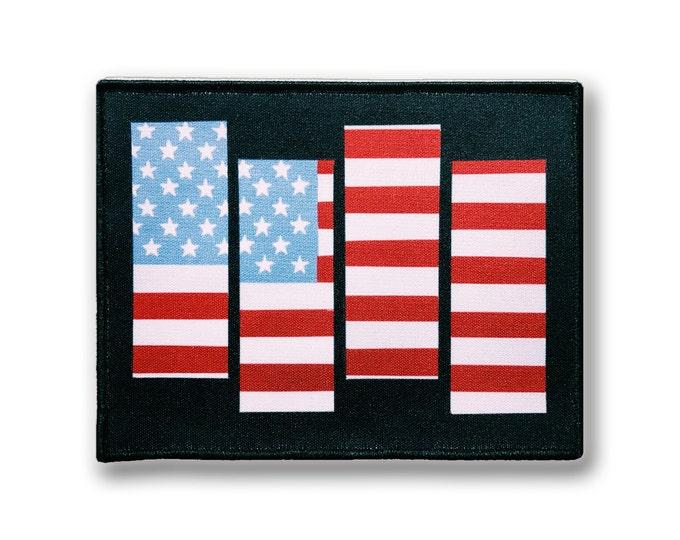USA Black Flag Patch