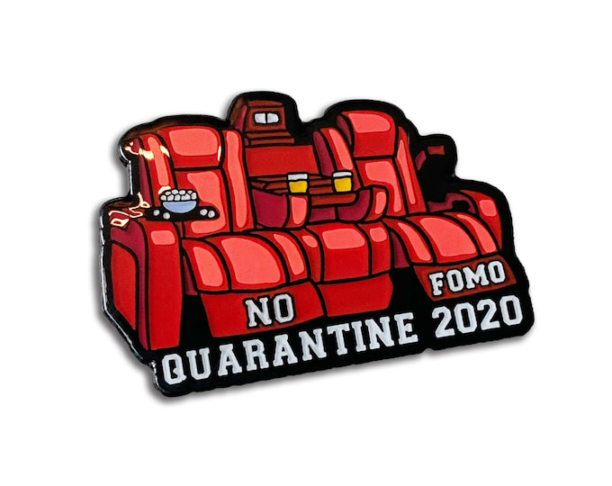 No Fomo 2020 Pin