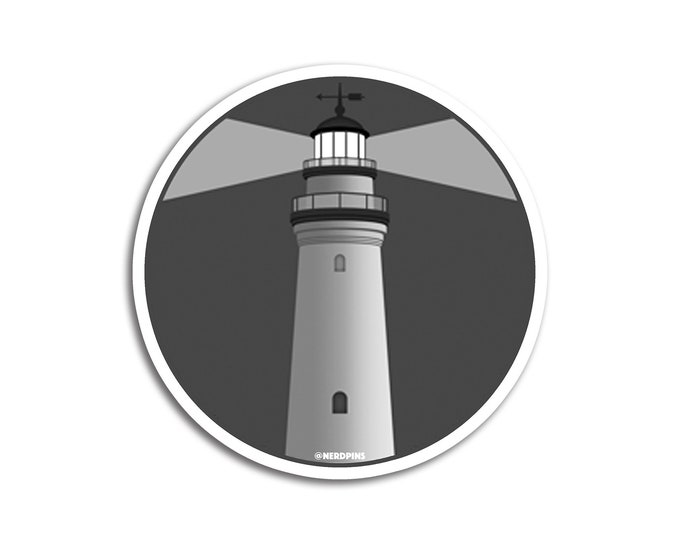 The Lighthouse Sticker
