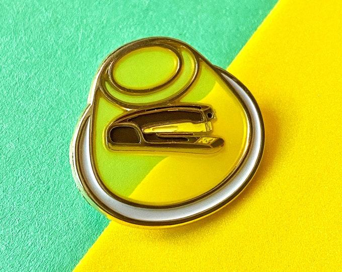 Jello Stapler Pin [Translucent!]