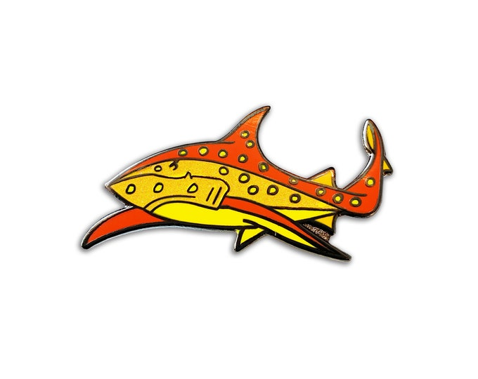 Jaguar Shark Pin