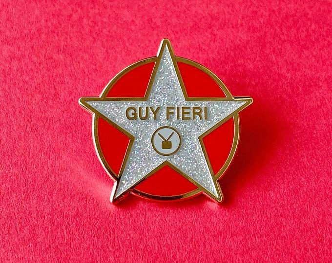 Guy Star Pin