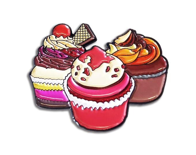 Cupcake Craze Pin