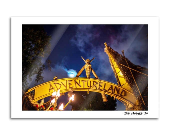 Adventureland 13x19 Print