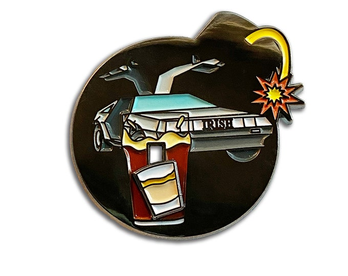 Irish Car Bomb Pin