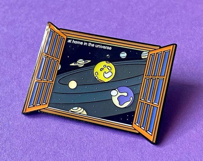 Universe Window Pin
