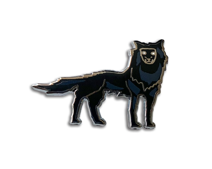 Fantastic Mr. Wolf Pin