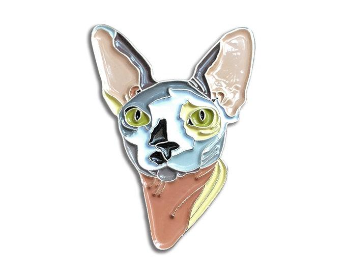 Sphynx Cat Pin