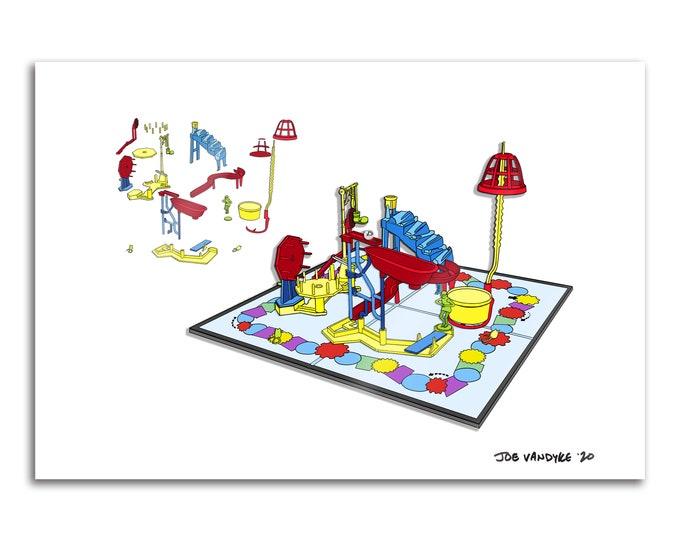 Mousetrap 13x19 Print