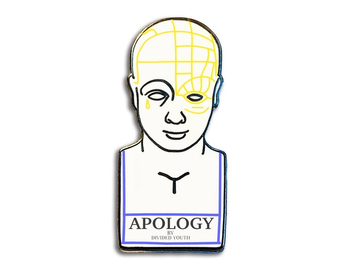 Apology Bust Pin