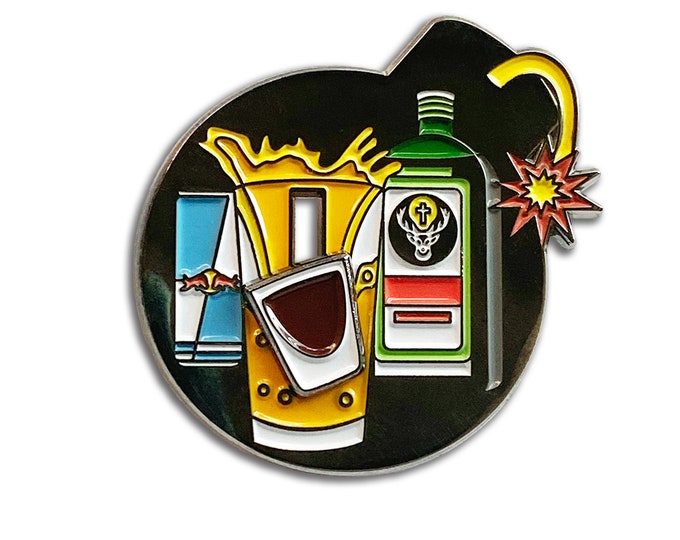 Jager Bomb Pin