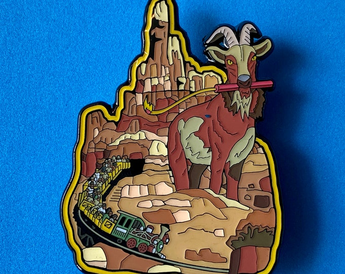 Thunder Goat Pin [Big!]