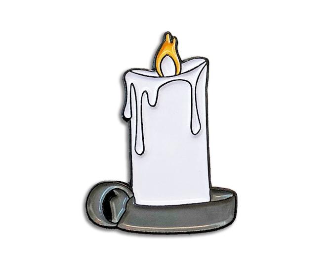 Candle Emoji Pin