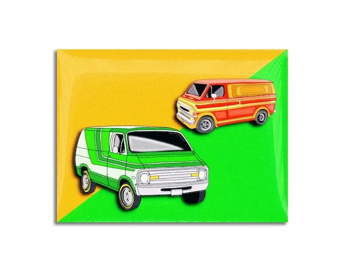 70's Vans Pin