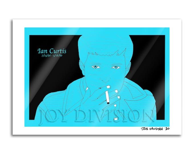Ian Curtis 13x19 Print