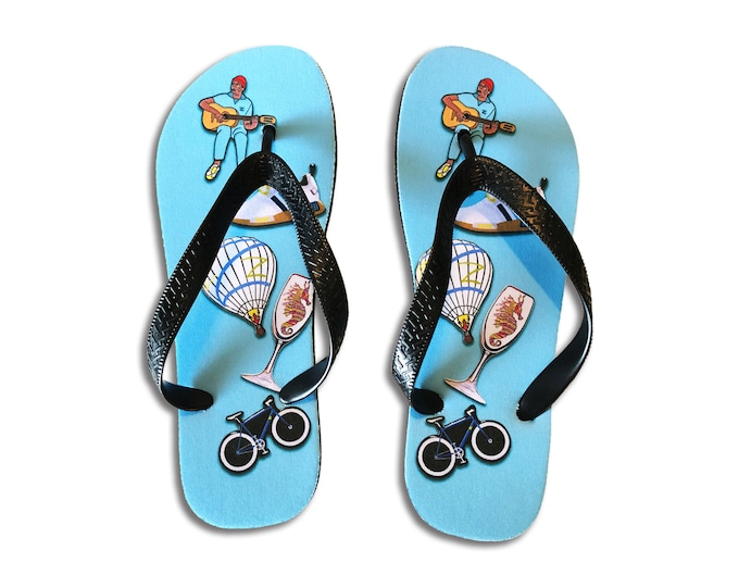 Zissou Flip Flops [Only 1 Pair Left!]