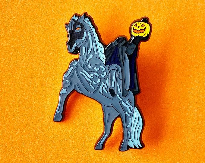 Headless Horseman Pin