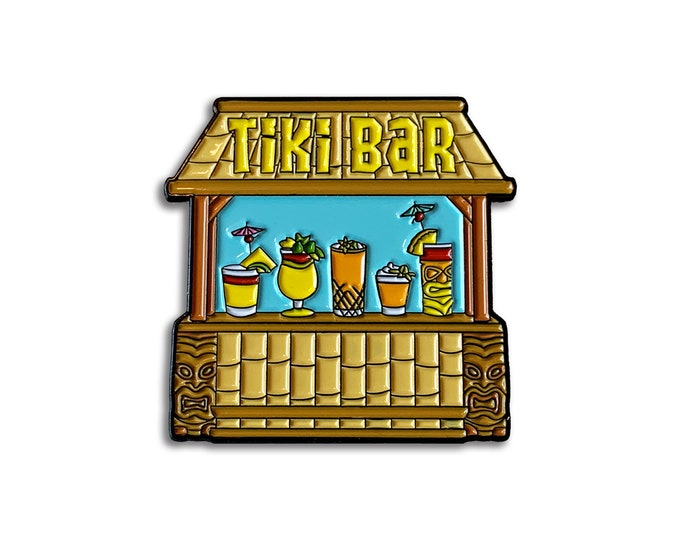 Tiki Bar Pin