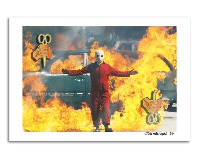 US Fire 13x19 Print