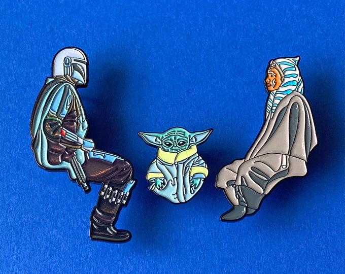 Jedi Camp 3 Pin Set