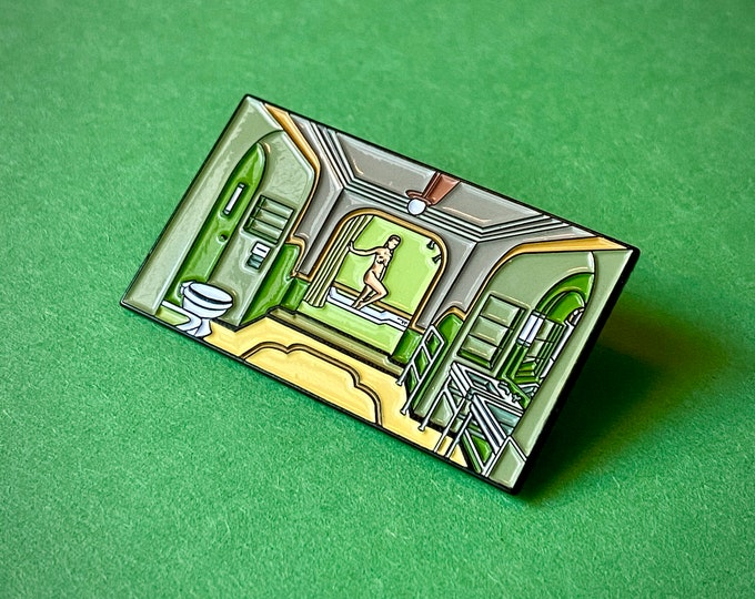 Room 237 Bathroom Pin